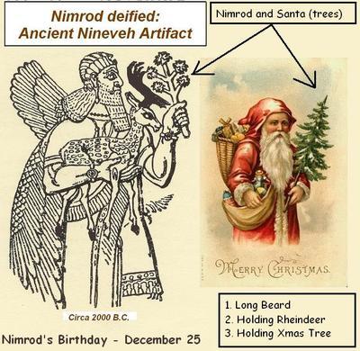 NIMROD AND SANTA CHRISTMAS