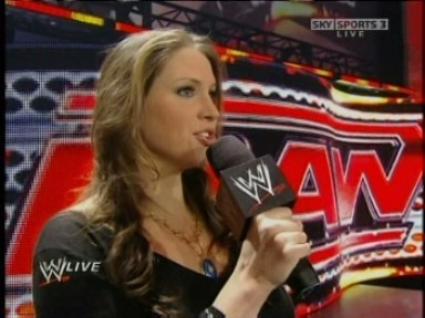 Stephanie McMahon Addresses Kane - Raw 24-11-08